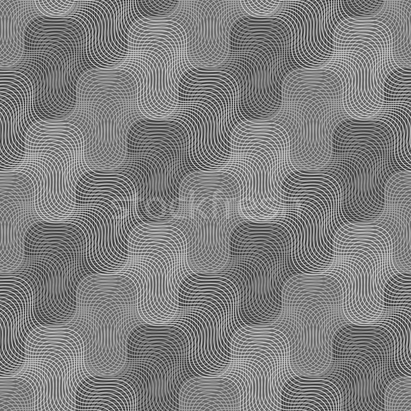 Repeating ornament intersecting light and dark gray texture Stock photo © Zebra-Finch