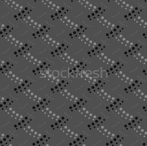 Monochrome pattern with gray and black dotted interwoven texture Stock photo © Zebra-Finch