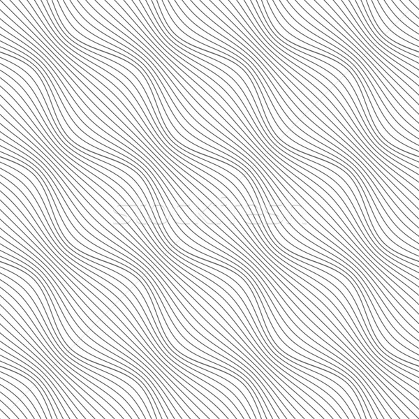 Gris ornamento diagonal olas sin costura elegante Foto stock © Zebra-Finch