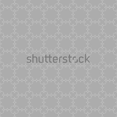 Grigio ornamento sottile orientale griglia senza soluzione di continuità Foto d'archivio © Zebra-Finch