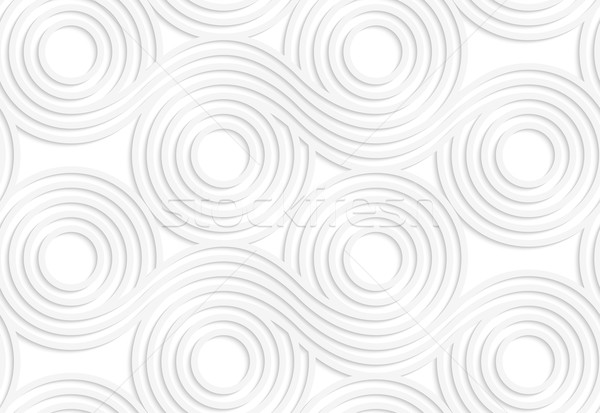 紙 白 シームレス 効果 現実的な ストックフォト © Zebra-Finch