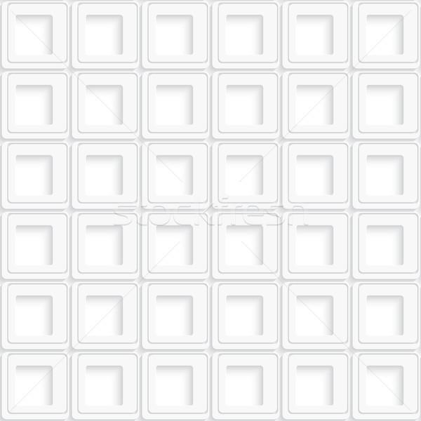 Fehér tér absztrakt végtelenített valósághű árnyék Stock fotó © Zebra-Finch