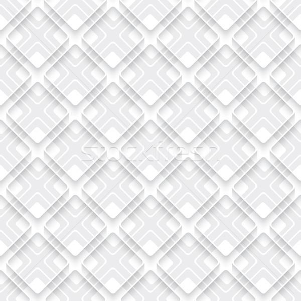 White and gray layered with rim Stock photo © Zebra-Finch