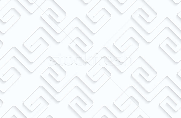 Quilling paper square fastened spirals in row Stock photo © Zebra-Finch