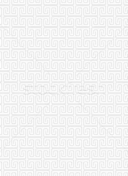 Slim gray square spirals fastened Stock photo © Zebra-Finch