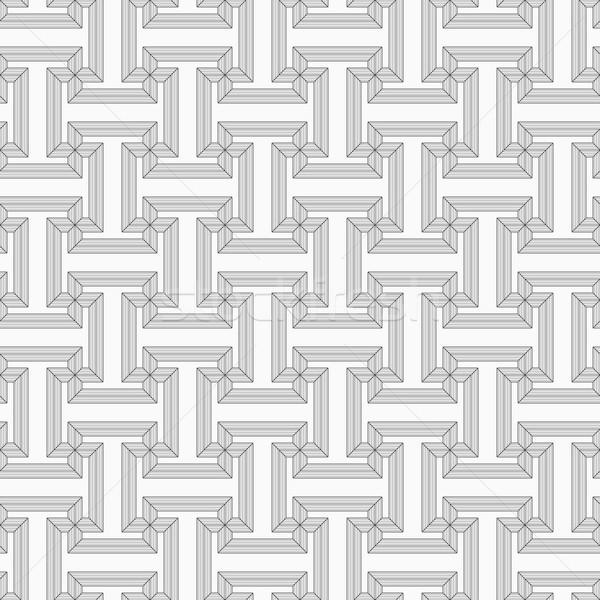 тонкий серый полосатый уголки Сток-фото © Zebra-Finch