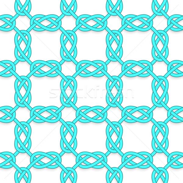 Beyaz geometrik modern 3D doku Stok fotoğraf © Zebra-Finch