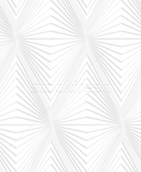 Papír kivágás vízszintes hagyma formák fehér szürke Stock fotó © Zebra-Finch