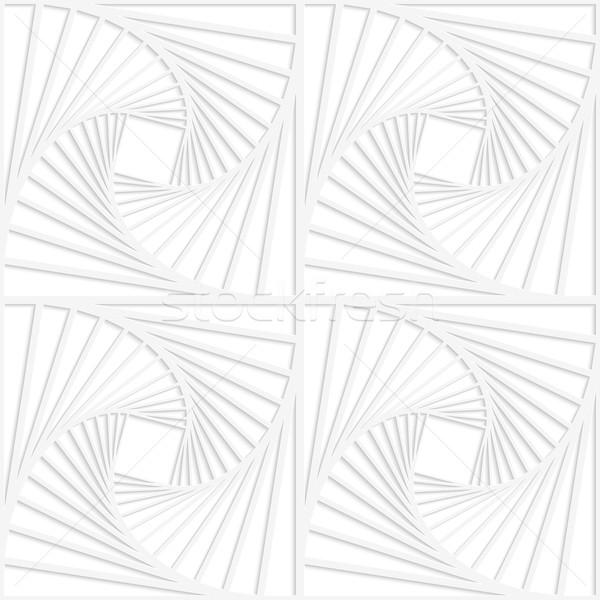 紙 白 正方形 シームレス ストックフォト © Zebra-Finch