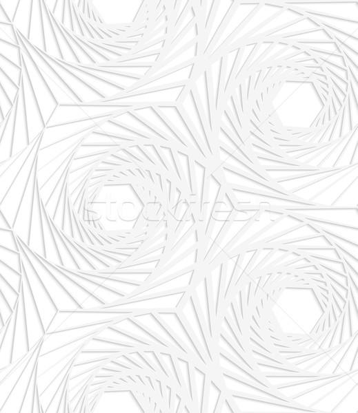 紙 白 縞模様の シームレス 効果 ストックフォト © Zebra-Finch