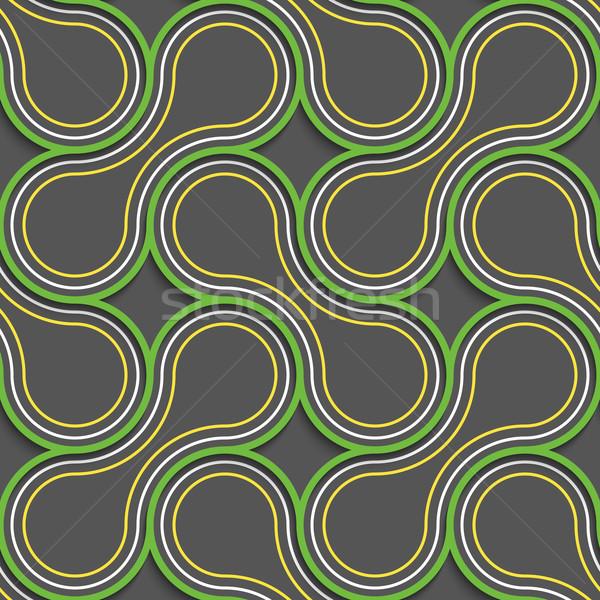 Green and orange tangled Stock photo © Zebra-Finch