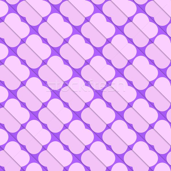 Retro 3D pink and purple diagonal butterflies Stock photo © Zebra-Finch