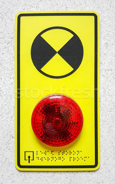 Help button on the wall Stock photo © zeffss