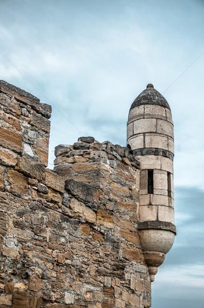 The fortress of Yeni-Kale, Russia, the Crimea. Stock photo © zeffss