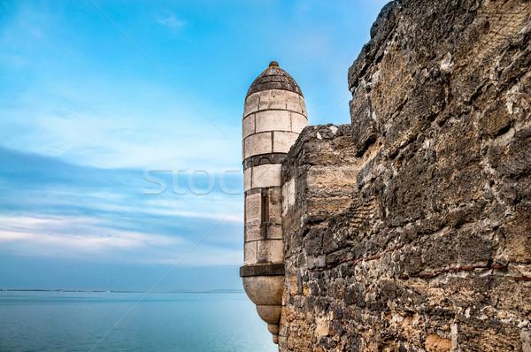 Fortezza Russia città cielo erba costruzione Foto d'archivio © zeffss