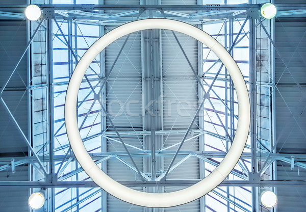 Dakraam venster bouwkundig business zon technologie Stockfoto © zeffss