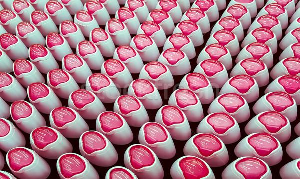 Desodorante garrafas rosa indústria garrafa Foto stock © zeffss