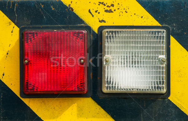 light hazard symbol Stock photo © zeffss