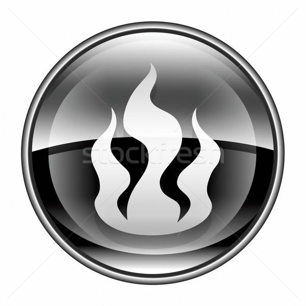 Industrie zwarte geïsoleerd witte water Stockfoto © zeffss