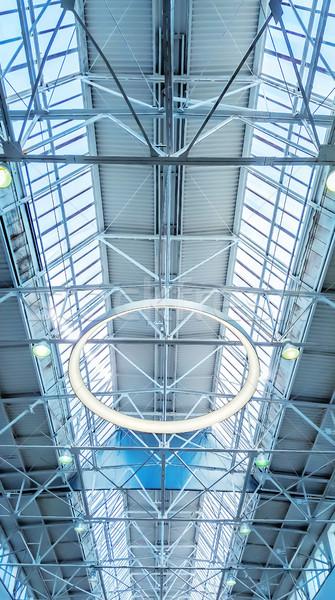 Lucernario finestra architettonico business sole tecnologia Foto d'archivio © zeffss