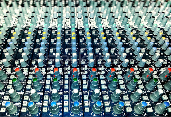 Professionali audio mixer retro digitale suono Foto d'archivio © zeffss