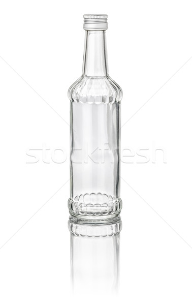 isolated liqueur bottle with facets Stock photo © Zerbor