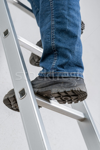 A man standing on a ladder Stock photo © Zerbor