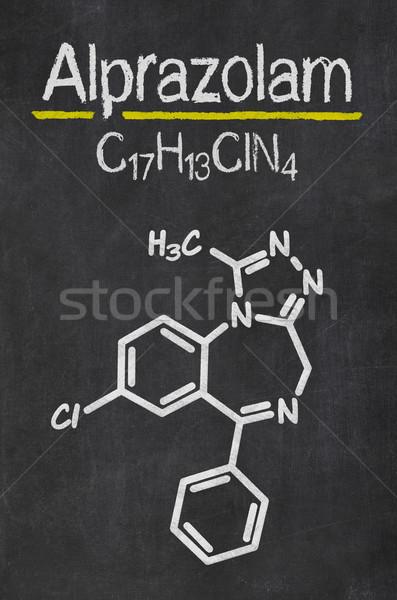 доске химического формула аннотация технологий Дать Сток-фото © Zerbor