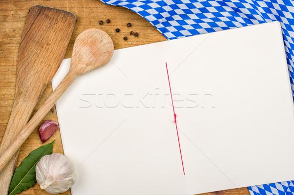 図書 木製 側位 テーブルクロス 紙 テクスチャ ストックフォト © Zerbor