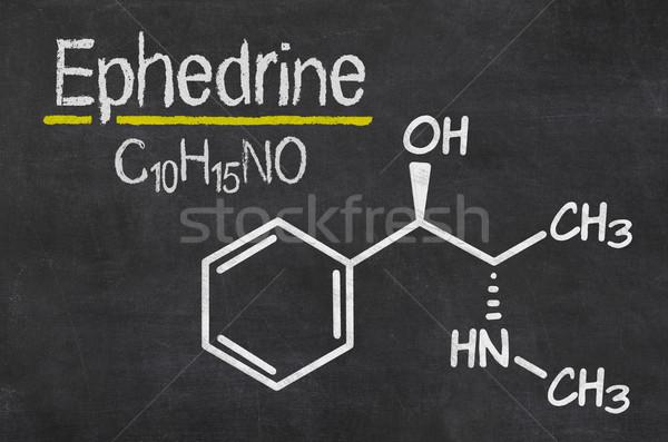 доске химического формула медицинской Дать черный Сток-фото © Zerbor