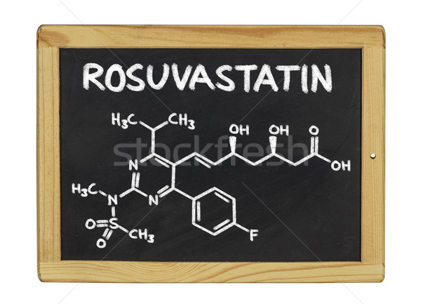 Zdjęcia stock: Chemicznych · wzoru · tablicy · szkoły · ramki · podpisania