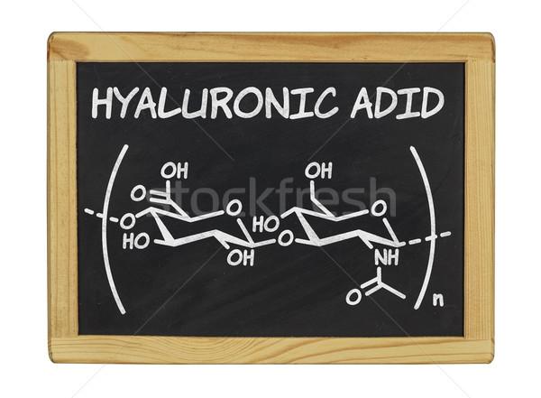 химического формула кислота школы кадр знак Сток-фото © Zerbor