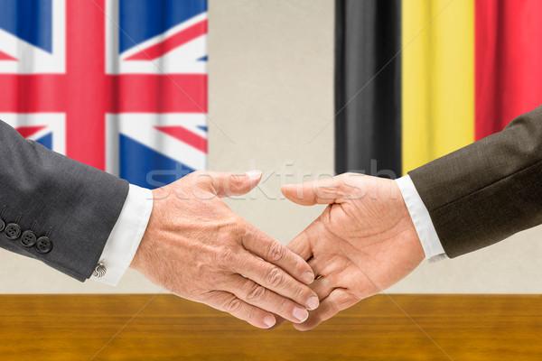 Bélgica mano manos mano reunión signo Foto stock © Zerbor