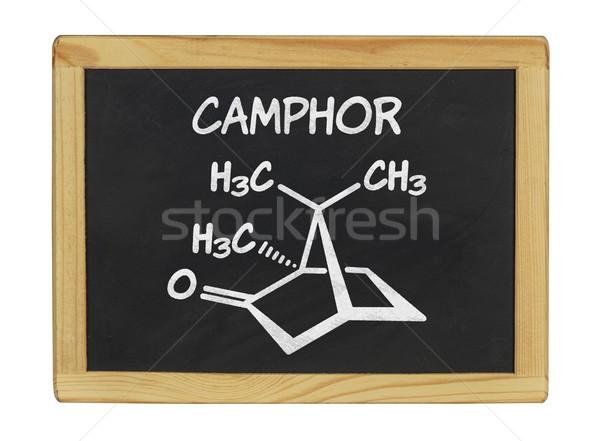 Químicos fórmula pizarra escuela marco signo Foto stock © Zerbor