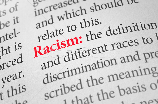 Definition of the word Racism in a dictionary Stock photo © Zerbor
