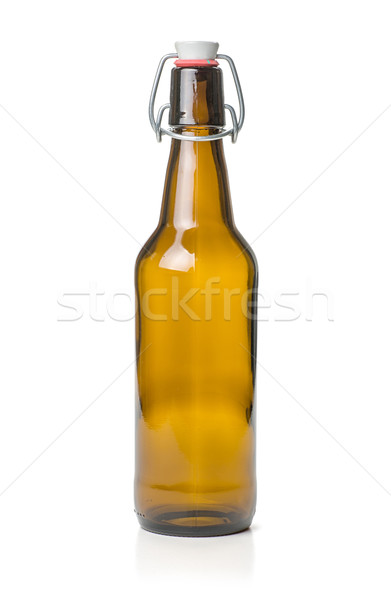 brown swing top beer bottle  Stock photo © Zerbor