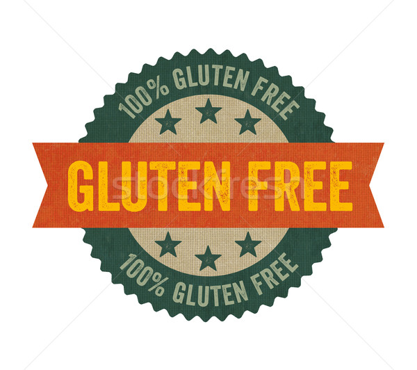 Label with the text Gluten free Stock photo © Zerbor