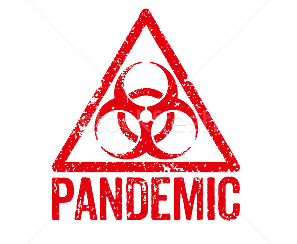 Red Stamp - Pandemic Stock photo © Zerbor