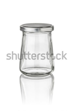 isolated conical glass jar Stock photo © Zerbor
