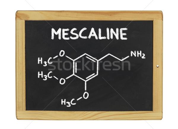 Químicos fórmula pizarra escuela marco educación Foto stock © Zerbor