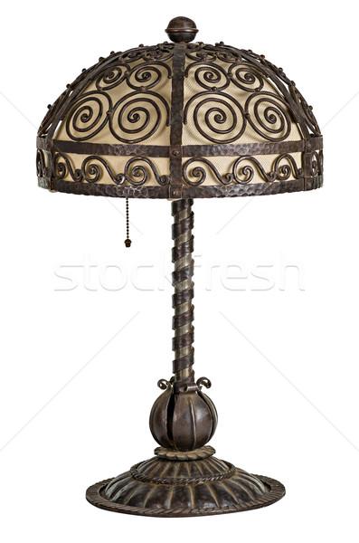 Antigo art noveau tabela lâmpada Foto stock © Zerbor