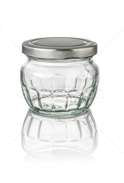 isolated jam jar with facets Stock photo © Zerbor