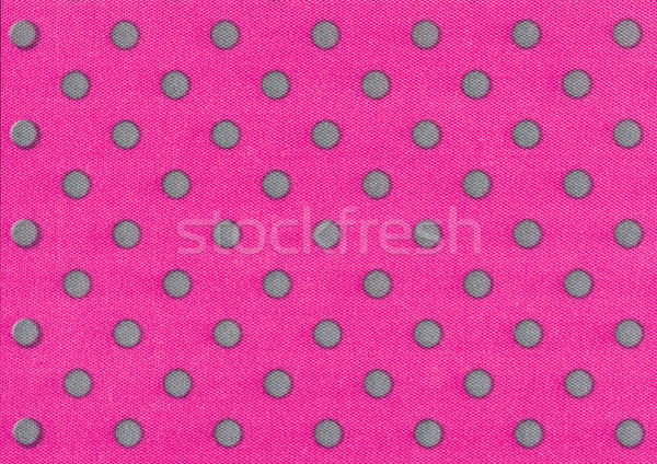 Pink fabric with gray polka dots Stock photo © Zerbor