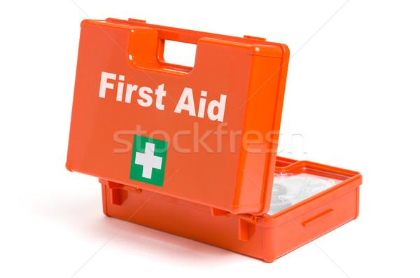 Photo stock: Premiers · soins · médicaux · signe · médecine · rouge
