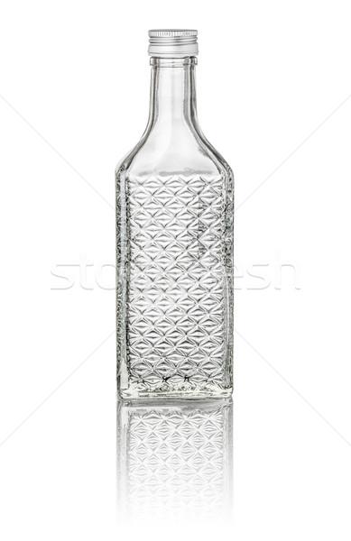 изолированный Вишневое бренди бутылку воды ретро Сток-фото © Zerbor