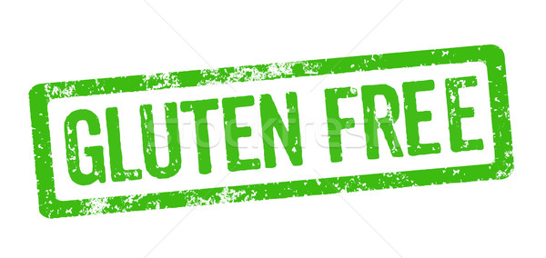 Green Stamp - Gluten free Stock photo © Zerbor