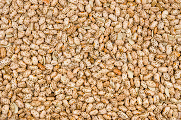 Background with pinto beans Stock photo © Zerbor