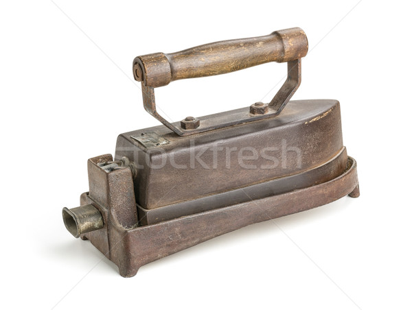 antique electric iron Stock photo © Zerbor