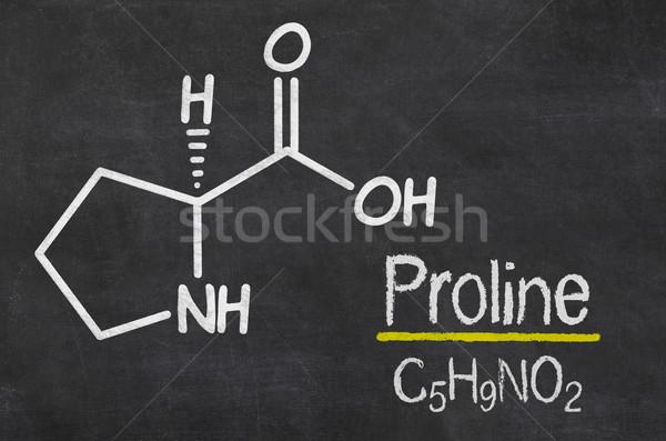 黒板 化学 式 医療 技術 薬 ストックフォト © Zerbor