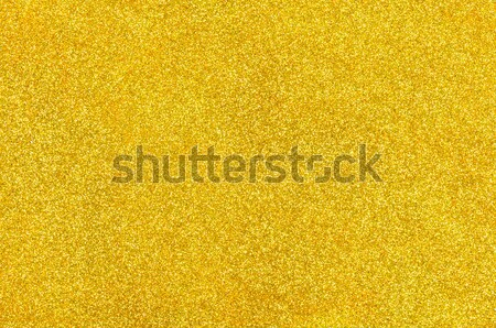Golden background with glitter Stock photo © Zerbor